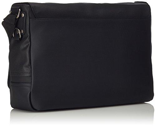 Calvin Klein TOM Messenger with Flap, Borse Uomo Black