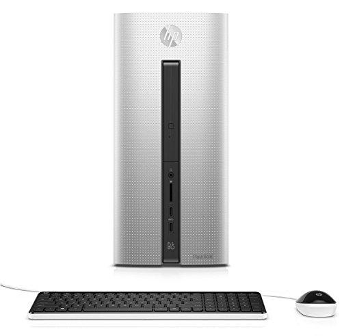HP Pavilion 550-275na Desktop (Natural Silver) - (Intel Core i7-6700, 4 GB RAM, 2 TB HDD, 128 GB SDD, AMD Radeon R5 330 2 GB DDR3, Windows 10)