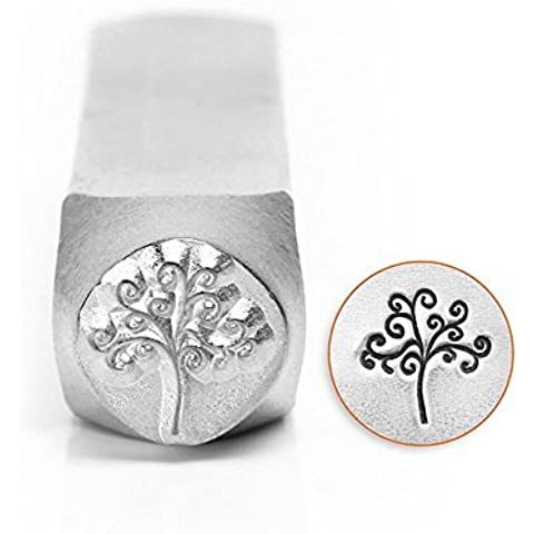 ImpressArt Metal Punch Stamp, Tree of Life