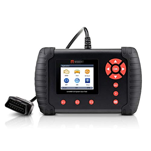 VIDENT ilink440 Scan Tool Vier System OBD2 Scanner Diagnosegerät Unterstützt Engine ABS, Air Bag ,SRS ,EPB Reset Akku Konfiguration (Getriebe Manuelle Nissan)