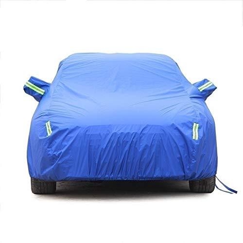 CXZS-Autoabdeckung Kompatibel mit Ford Fiesta ST Car Cover Wasserdicht Atmungsaktiv Dicker Sonnenschutz Regenplane Canvas (Color : Blue, Size : Oxford Cloth - Built-in lint)