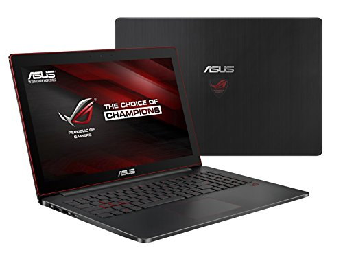 Asus ROG G501VW-FI074T 39,6cm (15,6 Zoll mattes Ultra-HD Display) Gaming Laptop (Intel Core i7-6700HQ, 16GB Arbeitsspeicher, 512GB SSD, Nvidia GTX 960M, Windows 10 Home) schwarz