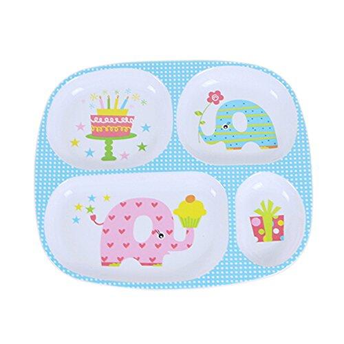 Gro?e Teller / Geteilte Teller / Baby-Dinner Tray - Platten Kinder Für Aufgeteilt