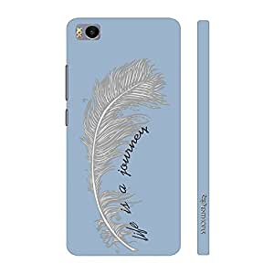 Enthopia Designer Hardshell Case Life is a Journey Back Cover for Xiaomi Mi 5s