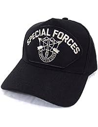 Casquette des Forces Spéciales Américaine brodee Militaire Commando de l'U.S Army - MADE IN USA