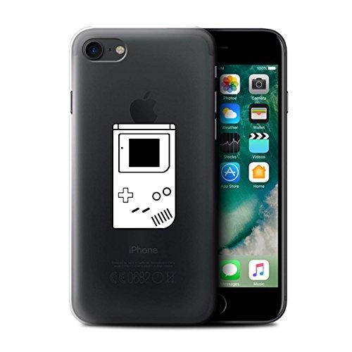 Stuff4 Hülle / Case für Apple iPhone 7 / Weiß SNES Muster / Spielsteuerung Kollektion Weiß Gameboy