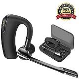 Torondo Bluetooth Headset V4.0 Kopfhörer Stereo In Ear Ohrhörer mit Mikrofon, einseitiges Bluetooth Headset für iPhone / Android [Einschließen Tragbaren Aufbewahrungs box]