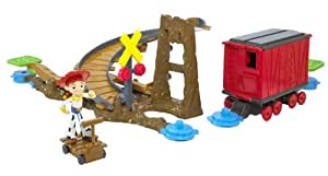 Toy Story 3 Action Links Jessie To The Rescue Stunt Set