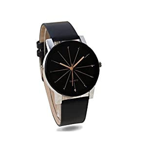 Talgo Analogue Women's Watch (Black Dial Black Colored Strap)