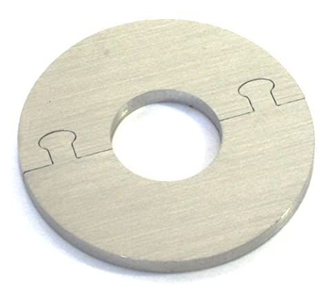 EXCLUSIF ACIER INOX rond Radiateur Rosette - Rosette unique pour le chauffage ø 15, 18, 20 mm - 18 mm de diamètre de tuyau