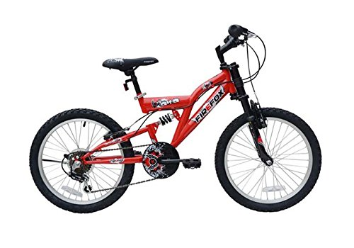 Firefox Alfa 20 Hybrid Bike, Kid's 20-inch (Red/Black)