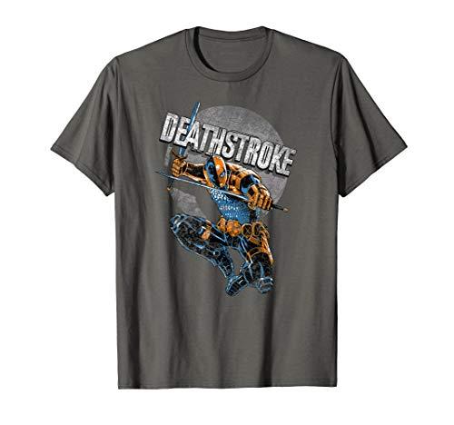 Batman Deathstroke Retro T Shirt
