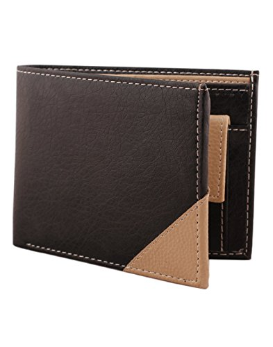 mtuggar Black & Beige Men's Wallet