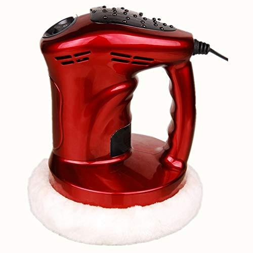 Poliermaschine, 12 V, 80 W, Oberflächenlack, professioneller Wachs-Polierer, Schaber-Werkzeuge mit dem Hilfsgriff, Wachsen, Auto, Dual Action, für Elektro-Fahrzeuge, rot