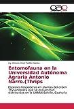 Entomofauna en la Universidad Autónoma Agraria Antonio Narro.(Thrips: Especies hospederas en plantas del orden Thysanoptera que se encuentran distribuidas en la UAAAN Saltillo, Coahuila