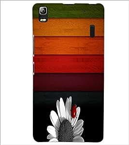 PrintDhaba Pattern D-3521 Back Case Cover for LENOVO K3 NOTE (Multi-Coloured)