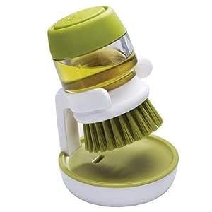JN-STORE Cleaning Brush with Liquid Soap Dispenser(Multi Color)
