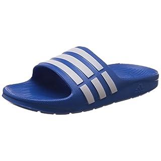 Adidas Performance, Duramo Slide K, Multisport Outdoor Shoes, Unisex Kids', Bahia Blue/Running White FTW/Bahia Blue, 4 UK