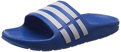 adidas Performance Duramo Slide K D67480 Mädchen Dusch- & Badeschuhe,Blau (Bahia Blue S14/Running White Ftw/Bahia Blue S14),29EU
