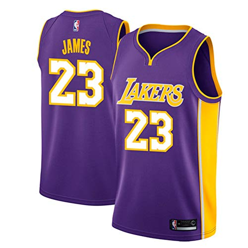 122c26b9 Zhao Xuan Trade Los Angeles Lakers Lebron James Männer Basketball Jersey  genäht atmungsaktiv # 23 Sport