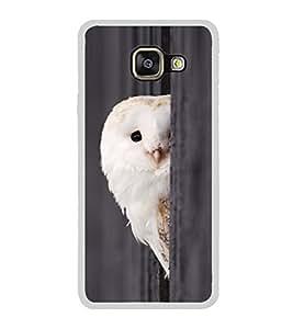 Peeping Owl 2D Hard Polycarbonate Designer Back Case Cover for Samsung Galaxy A7 (2016) :: Samsung Galaxy A7 2016 Duos :: Samsung Galaxy A7 2016 A710F A710M A710FD A7100 A710Y :: Samsung Galaxy A7 A710 2016 Edition