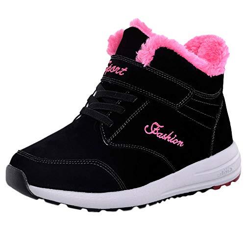 Turnschuhe Damen Freizeitschuhe WinterSchnee Schuhe Frauen Halten Warme Atmungsaktive Sneaker Heiße Plüsch Laufschuhe Outdoor Sneaker ABsoar