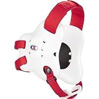 Cliff Keen Fusion–Protector de cabeza, Atlético, blanco/escarlata