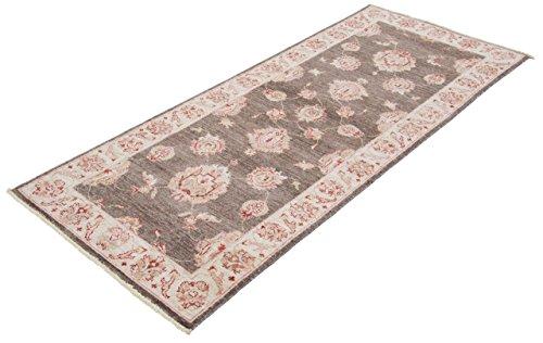 Teppich läufer braun  Ziegler Teppich / Läufer 78x196cm, Handgeknüpft Braun, Pakistan