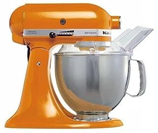 KitchenAid KSM150PSETG_ETG - Robot de cocina, motor de 300 vatios, capacidad de 5 l, 10 velocidades, color naranja (B0000DEZ7N) | Amazon price tracker / tracking, Amazon price history charts, Amazon price watches, Amazon price drop alerts