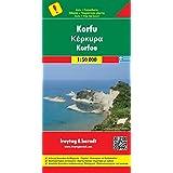 Freytag Berndt Autokarten, Korfu - Maßstab 1:50 000