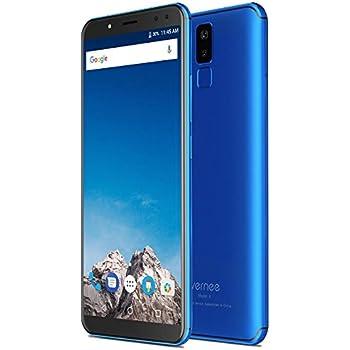 Vernee X - FHD da 5,99 pollici (rapporto 18: 9) Smartphone Android 4G, Octa Core da 2,0 GHz 4 GB + 64 GB, Batteria 6200 mAh, Quattro fotocamere (13 MP + 5 MP + 16 MP + 5 MP), Riconoscimento viso - Blu