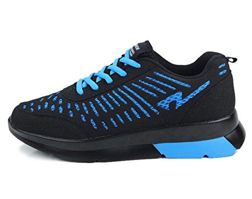 Männer Lässige Breathable Laufschuhe Persönlichkeit Freizeit Sport Schuhe Blue