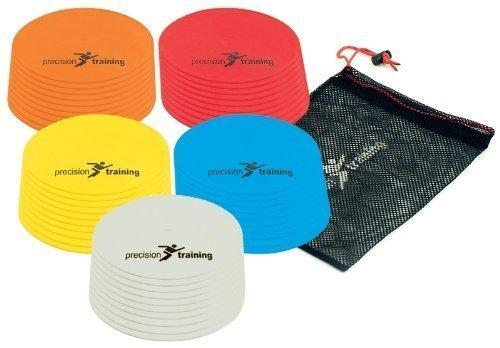 Precision Training Round Marker Multisport Training Discs Multicolor 10 Disc Set Test