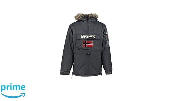 Geographical Norway - Parka Homme Boomerang Gris-Taille - XXXL  Amazon.fr   Vêtements et accessoires 15cdd122aa67