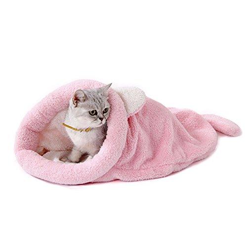 Dxlta Mascota Invierno Calentar Cama Esteras Linda Gato Dormir Caliente Bolso Cama para Cama Mantas Puppy Casa Cojín Mascotas