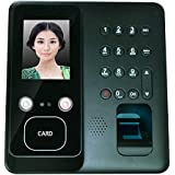 MICE Face Fingerprint Recognition Time Attendance Terminal with Art Facial Recognition Algorithm and Dual HD IR Camera in Dar