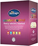 Silentnight Comfort Control Electric Blanket, Fleece - Single