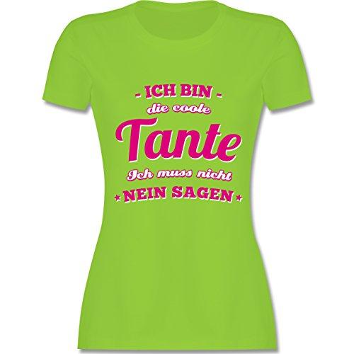 Shirtracer Schwester & Tante - Ich Bin Die Coole Tante - Damen T-Shirt  Rundhals.