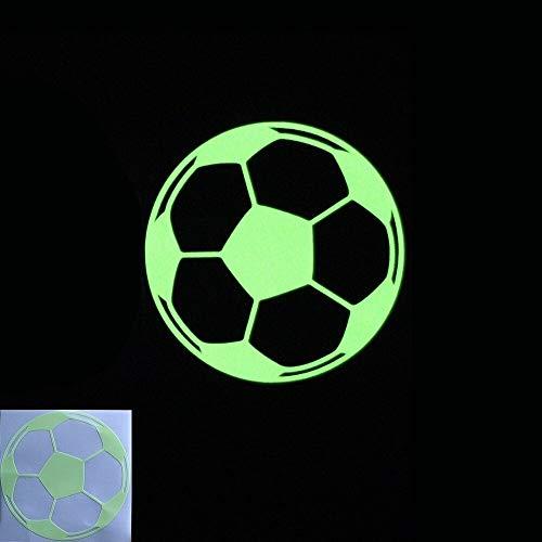 WALSTICKEL Wandtattoos Neuheit Fußball Leuchtende Schalter Aufkleber Kids Glow Aufkleber In Der Dunkelheit Für Wohnkultur Wanddekoration Wohnzimmer Schlafzimmer Bett, Fußball Yg