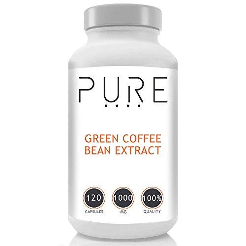 Pur Extrait De Grains De Café Vert (1000mg) - 120 Gélules