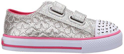 Skechers ShufflesSweet Steps Mädchen Sneakers Silber