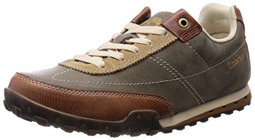 Timberland Greeley Ftp_Ek Greeley Low Leather, Baskets Basses Homme Gris - Gris