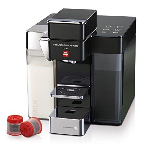 illycaffè Y5 Milk Iperespresso - Máquina de café