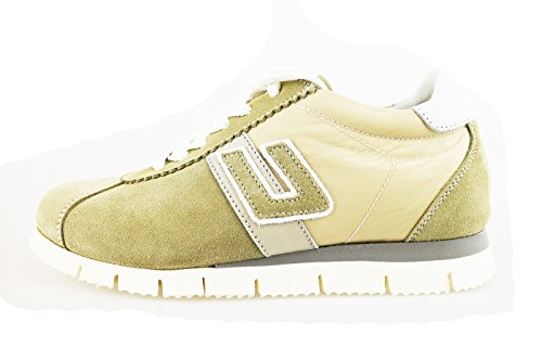 CESARE PACIOTTI 4 US sneakers bambino beige camoscio tessuto (31 EU)