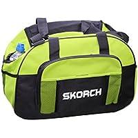 Verde borsa sportiva con integrato portabottiglie