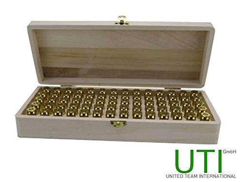 Munitionsbox Kaliber 45 ACP & 44 Magnum - 70 Patronen - Munitionskiste - Munition - Patronenbox - Patronenkiste