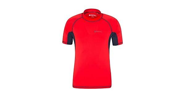 Mountain Warehouse UV-Badeshirt für Herren - Schwimmshirt mit UPF50+,  schnelltrocknend, flache Nähte 96120a1b6b