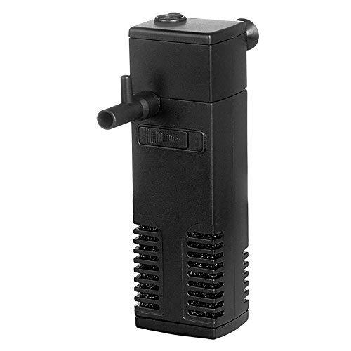 Hidom AP-600L - Filtro Interno para Acuario (300 L/h, para peceras pequeñas, hasta 60 L)