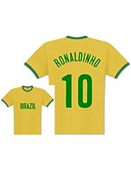 World of Football Player Shirt Brasilien Ronaldinho