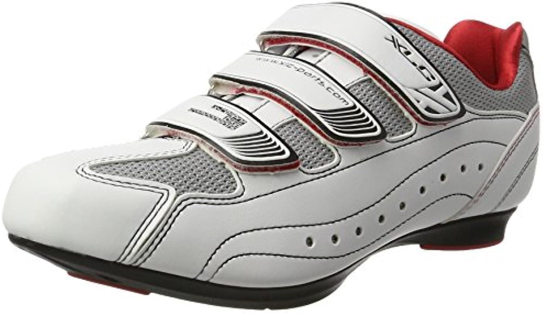 XLC Adulti Comp Road scarpe Tour CB R03, Unisex, Comp Road scarpe Tour CB R03, Bianco, 42 | Per Vincere Una Ammirazione Alto  | Sig/Sig Ra Scarpa
